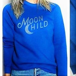 new Kid Dangerous Moon Child Crew Neck Sweatshirt